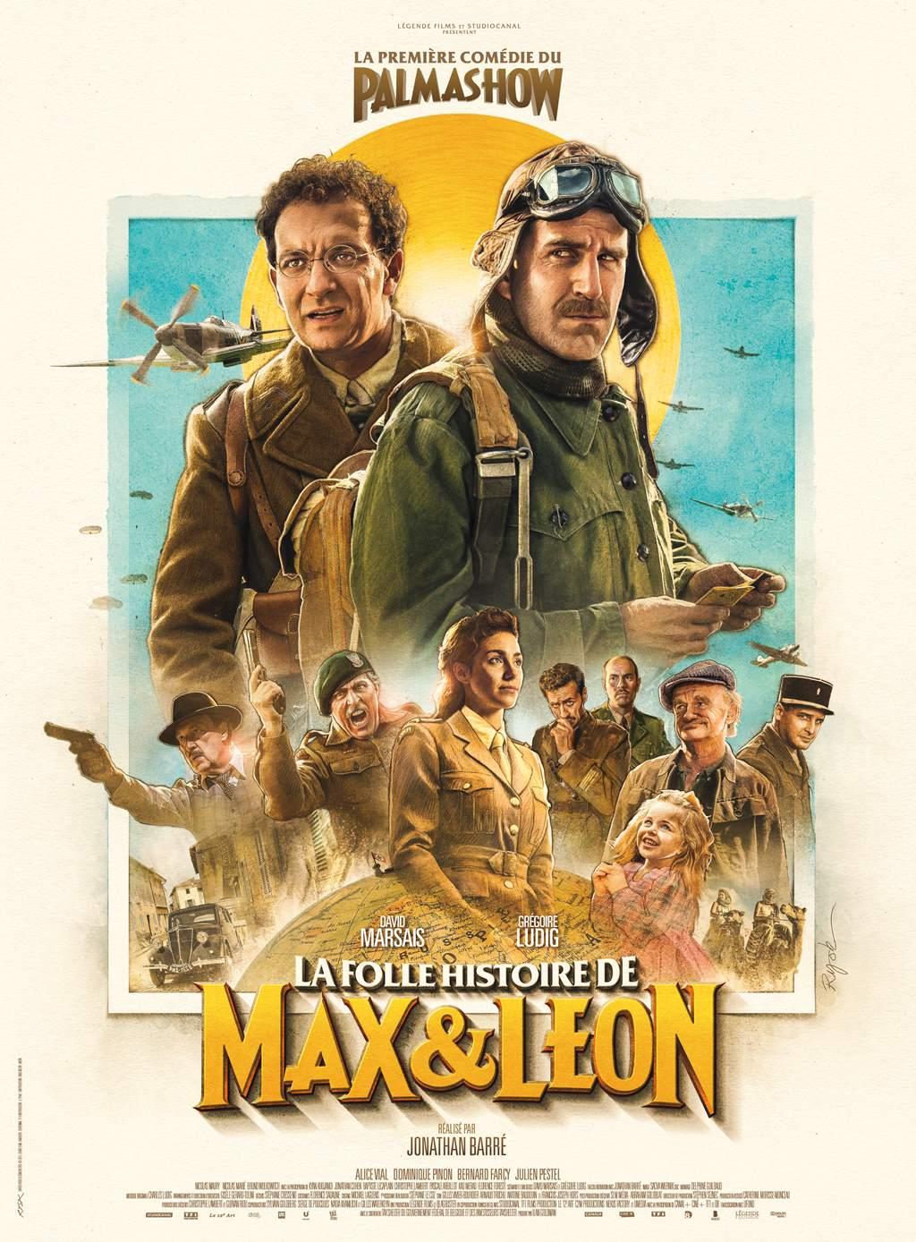 La Folle Histoire De Max Et Léon Streaming